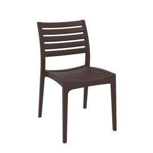 Ares Chair - Chocolate