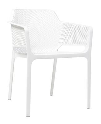 Net Arm Chair - White