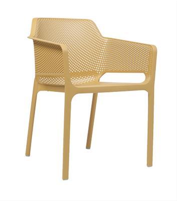 Net Arm Chair - Mustard Yellow