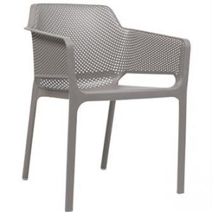 Net Arm Chair - Taupe