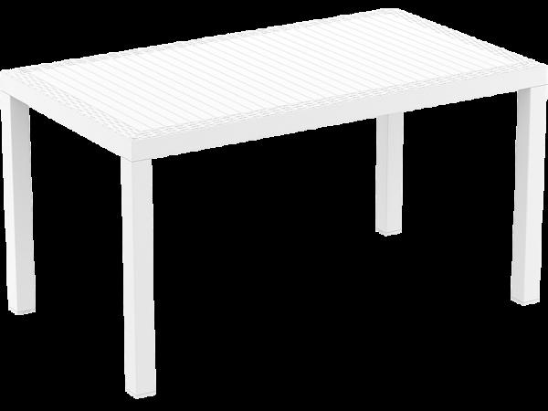 Orlando Table - 1400x800 - White
