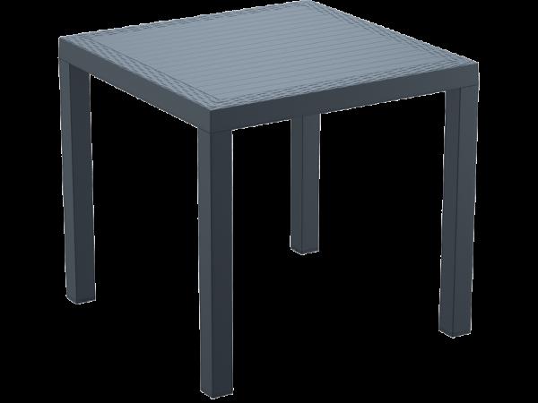 Orlando Table - 800x800 - Anthracite