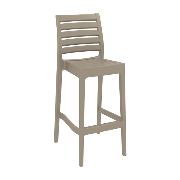 Ares Bar Stool - Taupe