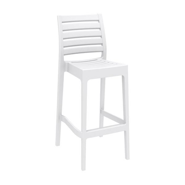 Ares Bar Stool - White