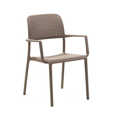 Bora Arm Chair - Taupe