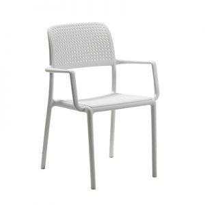Bora Arm Chair - White