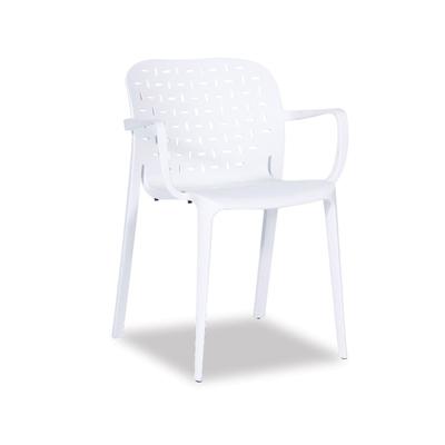 Buso Arm Chair – White
