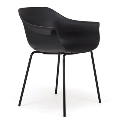 Crane Chair With Post Legs - Black