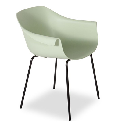 Crane Chair With Post Legs - Green Mint