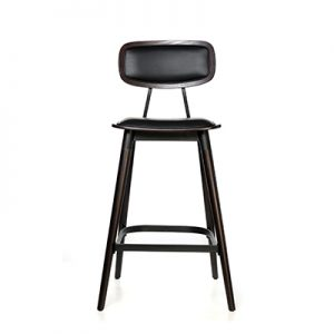 Felix Bar Stool (Vinyl seat) - Chocolate
