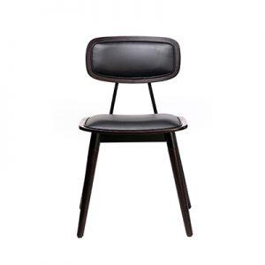 Felix Chair (Vinyl seat) - Chocolate