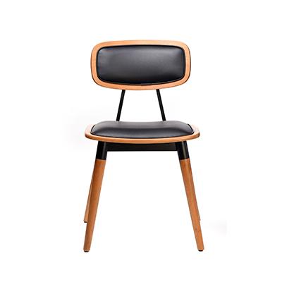 Felix Chair (Vinyl seat) - Lancaster Oak