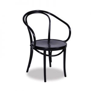 Le Corbusier Bentwood Chair - Black