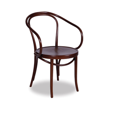 Le Corbusier Bentwood Chair - Walnut