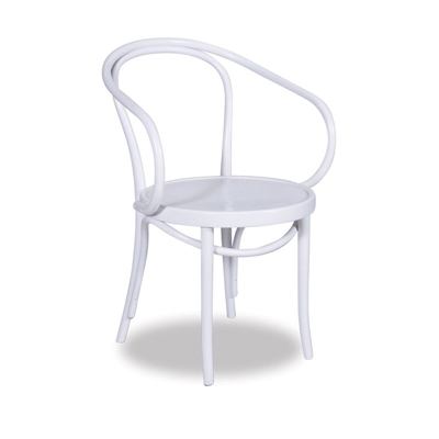 Le Corbusier Bentwood Chair - White