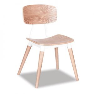 Match Dining Chair - White