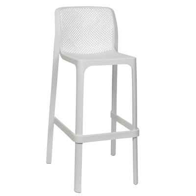 Net Stool - White