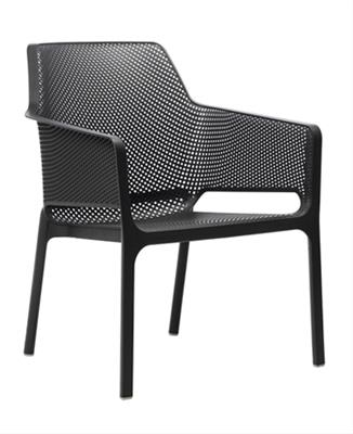 Relax Net Arm Chair - Anthracite