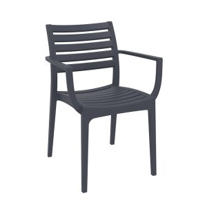 Artemis Arm Chair - Anthracite