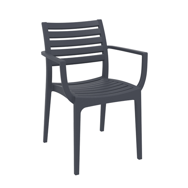 Artemis Arm Chair - Anthracite