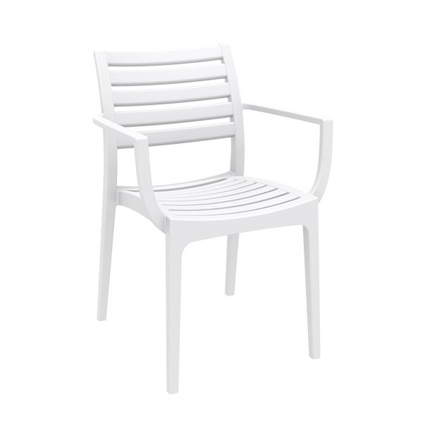 Artemis Arm Chair - White