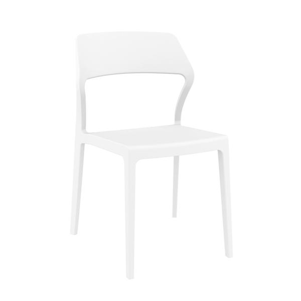Snow Chair - White