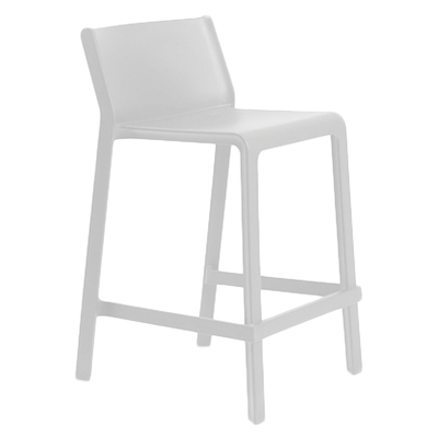 Trill Stool 650H White