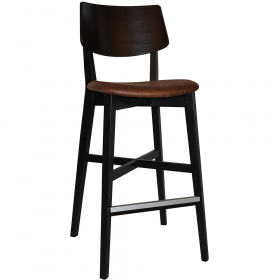 Phoenix Stool Black – Eastwood Bison