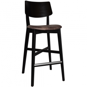 Phoenix Stool Black – Eastwood Donkey