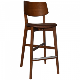 Phoenix Stool Light Walnut – Eastwood Bison