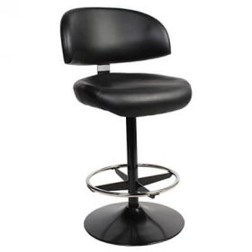 Kiev Gaming Stool Black