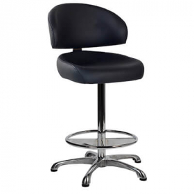 Koln Gaming Stool Black