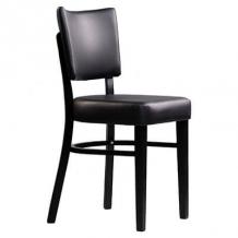 Memphis Chair Black Vinyl Seat & Backrest