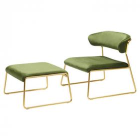 Lisa Lounge Armchair – Designer Finish