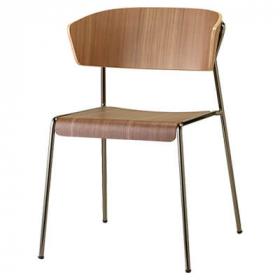 Lisa Wood Armchair – Designer Finishes