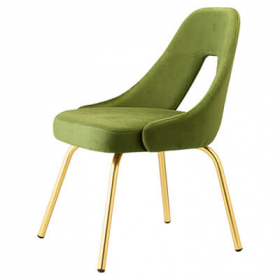 Me Chair Brass Finish